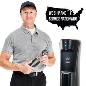 Nationwide Service and Shipping for our bottleless water coolers