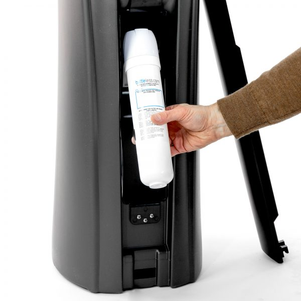 change the water filter on your Olympia bottleless water cooler